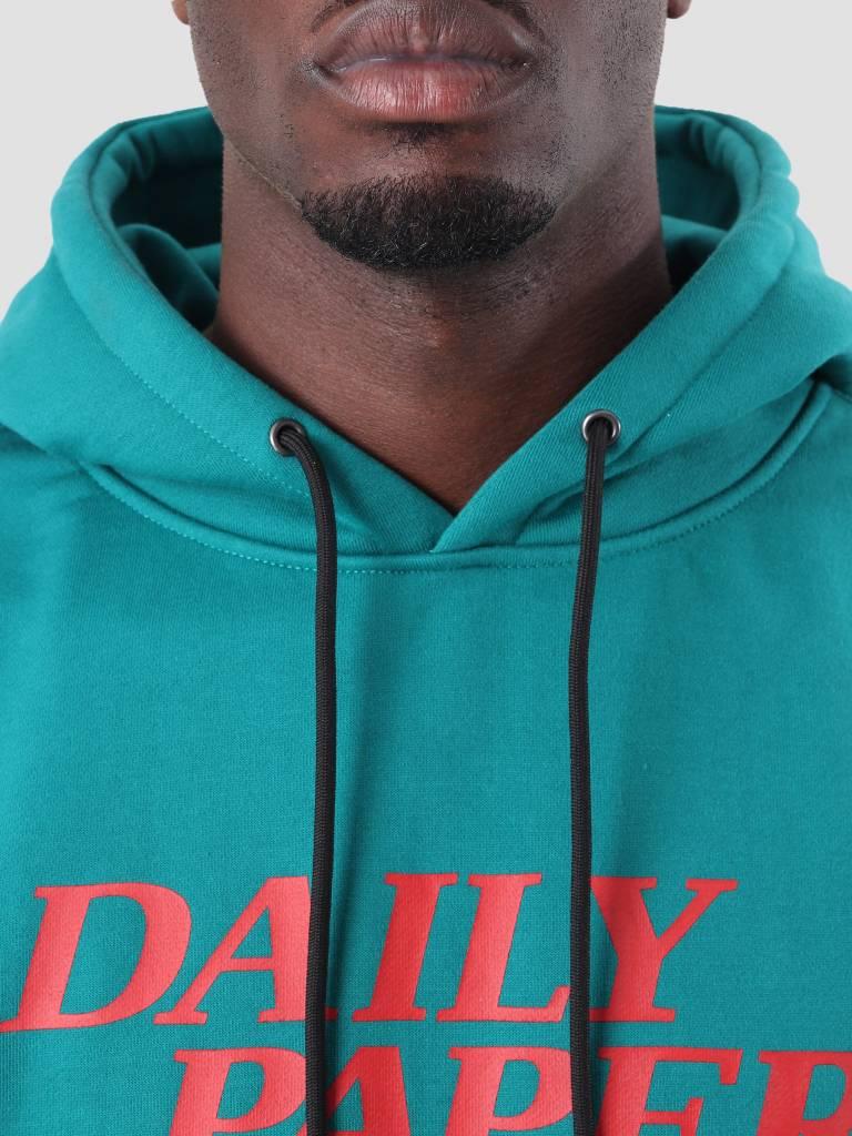 Daily Paper Daily Paper Dio Hoodie Dark Petrol 18F1HD05