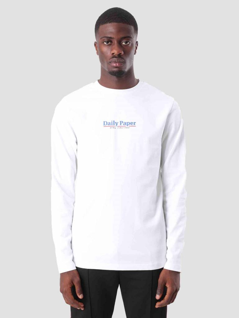 Daily Paper Daily Paper Disa Longsleeve White 18F1TL09