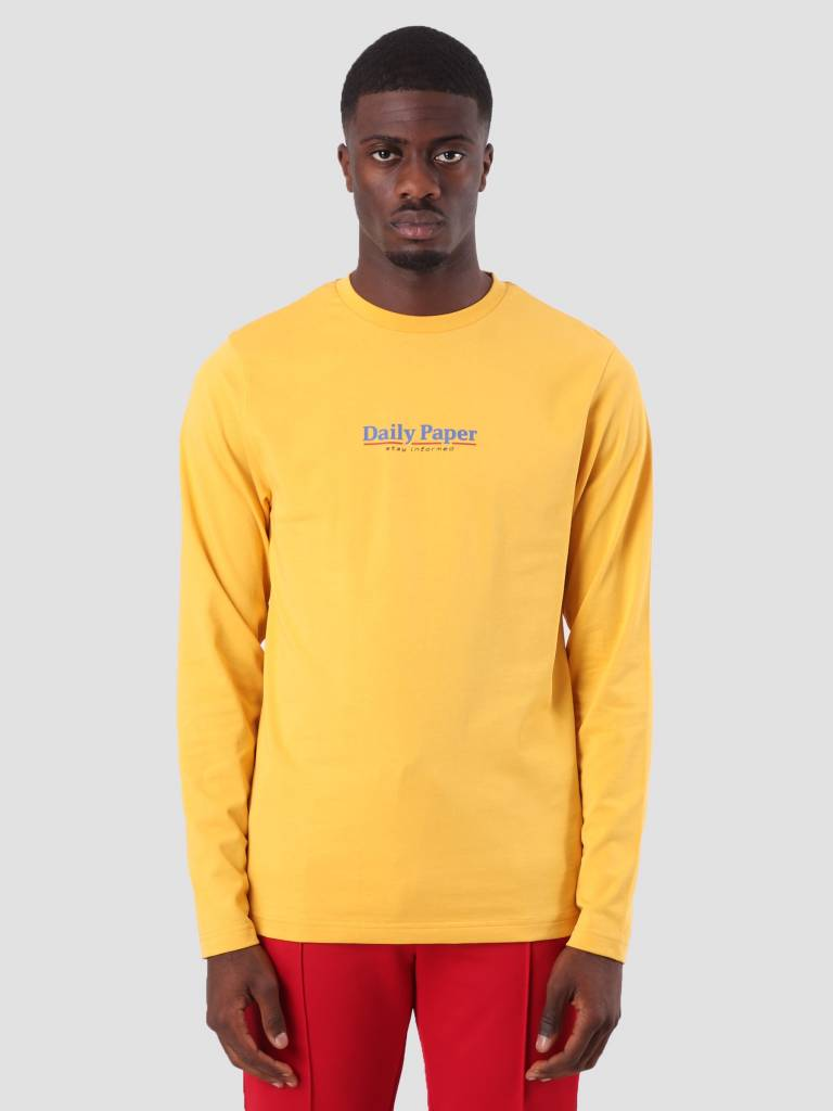 Daily Paper Daily Paper Disa Longsleeve Yellow 18F1TL10