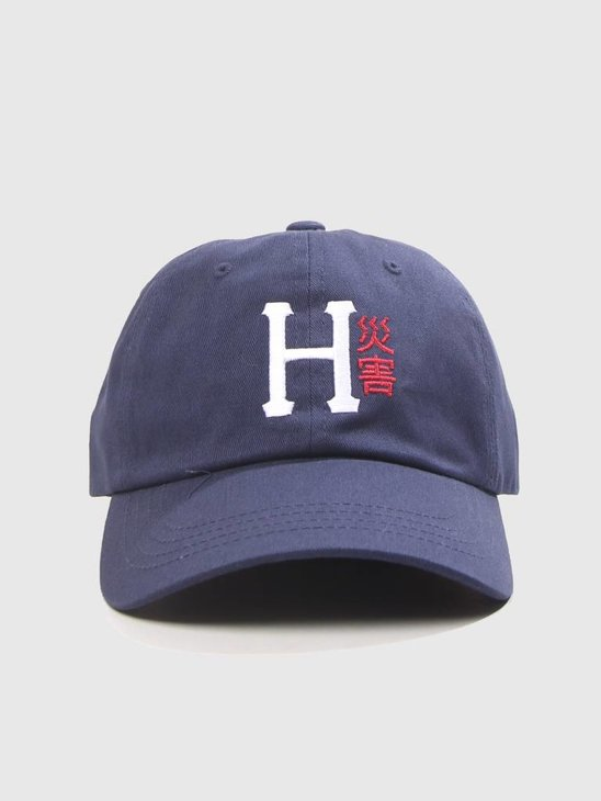 HUF Disaster CV 6 Panel Hat Moon Indigo HT00238
