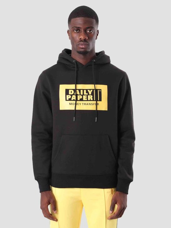 Daily Paper Donny Hoodie Black 18F1HD09
