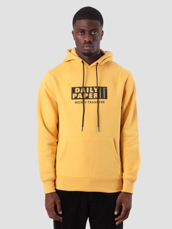 Daily Paper Donny Hoodie Yellow 18F1HD10