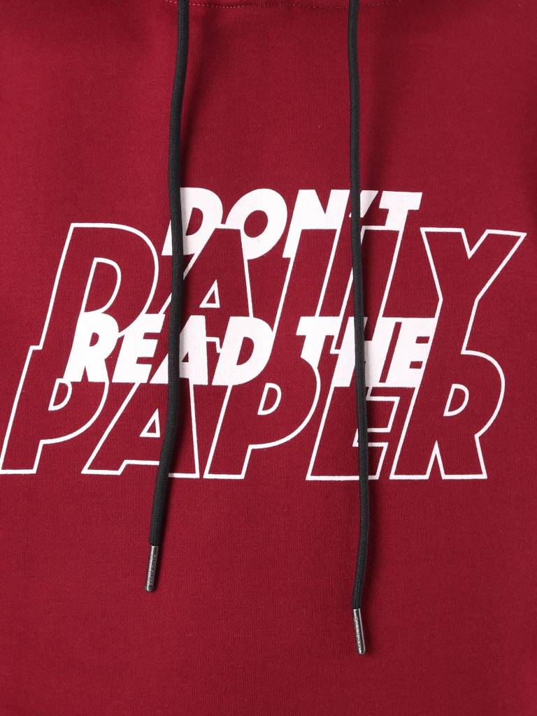 Daily Paper Daily Paper Dro Hoodie Dark Red 18F1HD07