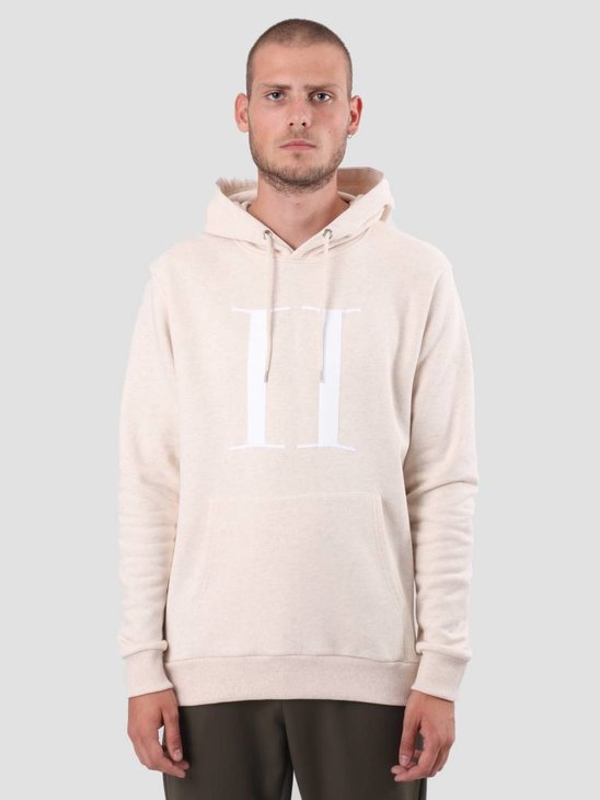 Les Deux Encore Hoodie Light Brown White LDM201007