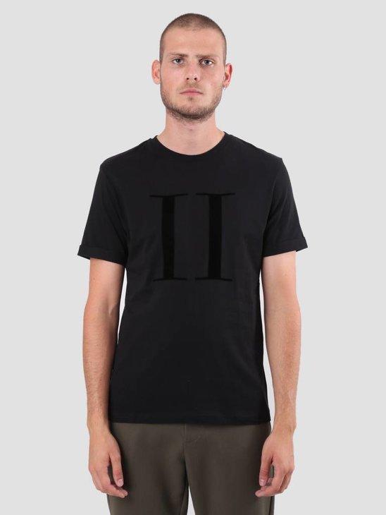Les Deux Encore T-Shirt Black Black LDM101006