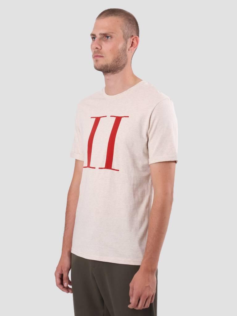 Les Deux Les Deux Encore T-Shirt Light Brown Mel Brick Red LDM101006