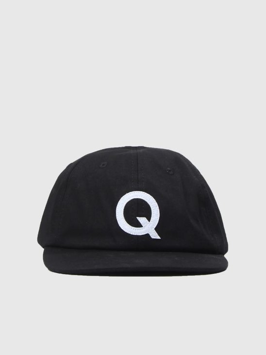 The Quiet Life League Polo Hat Black  18FAD1-1191-BLK