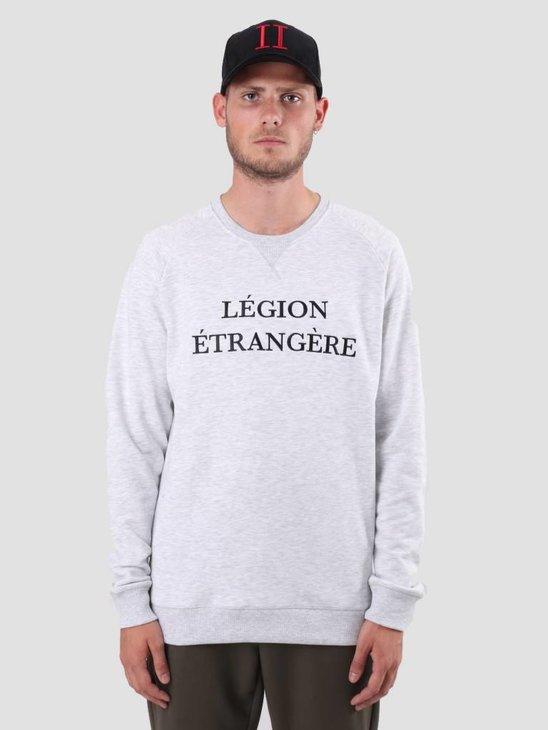 Les Deux Legion Sweatshirt Snow Mel Black LDM200028