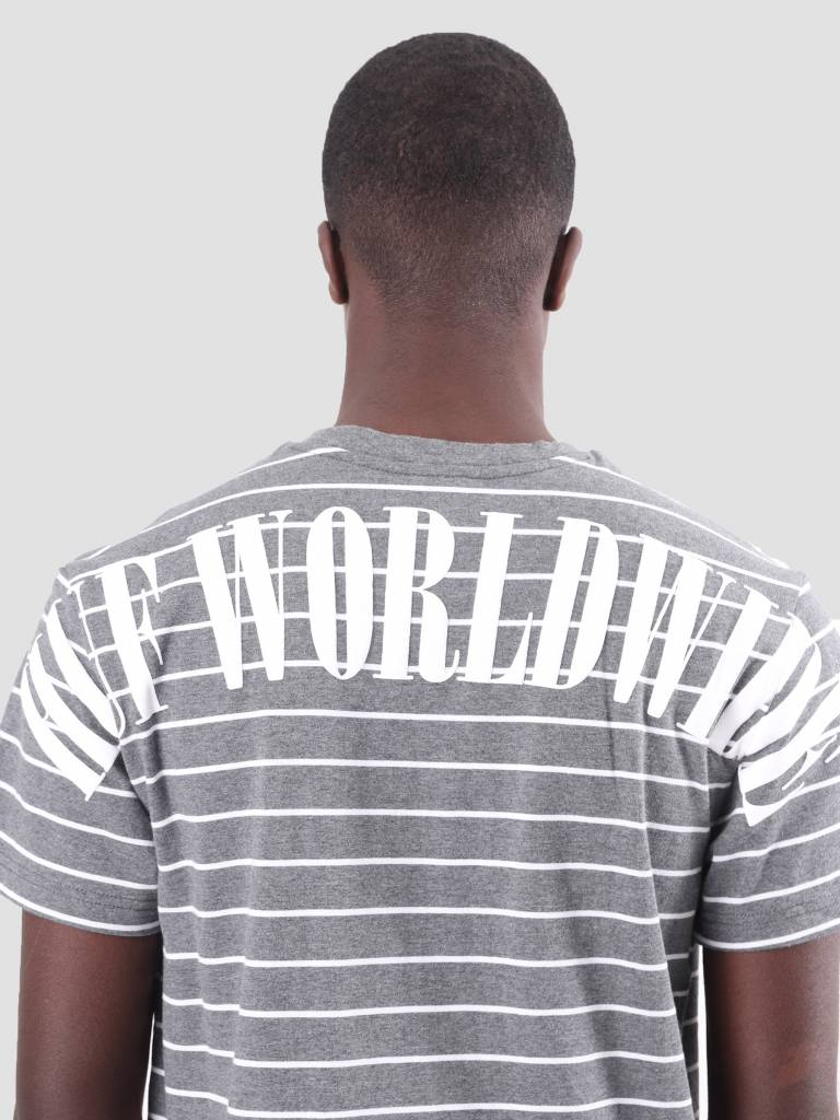HUF HUF Nevermind T-Shirt Charcoal KN00059