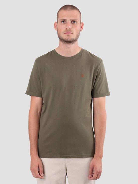 Les Deux Norregaard T-Shirt Stone Gray LDM101008