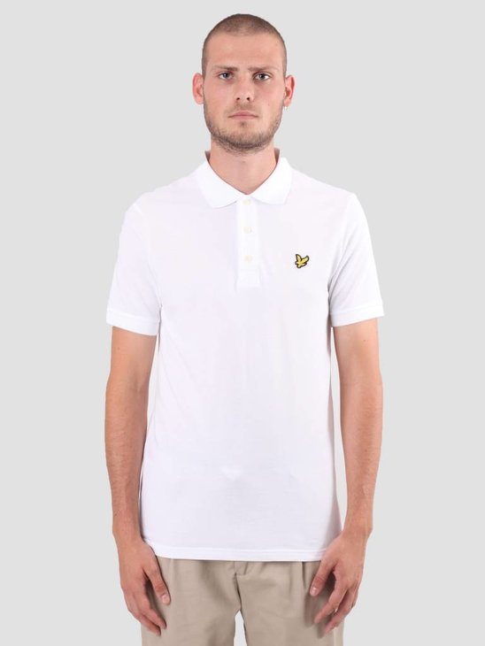 Lyle and Scott Polo Shirt White SP400VB