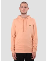 Lyle and Scott Lyle and Scott Pullover Hoodie Dusky Coral ML416VB