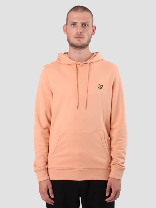 Lyle and Scott Pullover Hoodie Dusky Coral ML416VB