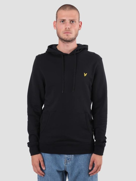 Lyle and Scott Pullover Hoodie True Black ML416VB