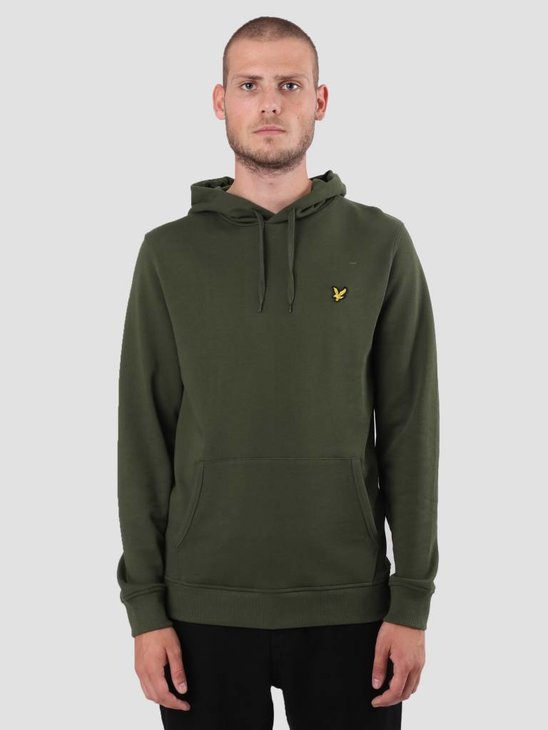 Lyle and Scott Pullover Hoodie Woodland Green ML416VTR