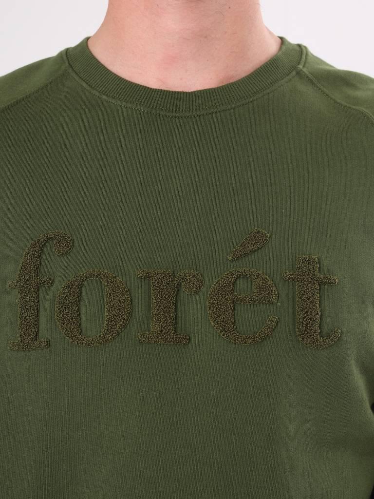 Foret Foret Spruce Sweatshirt Army F009