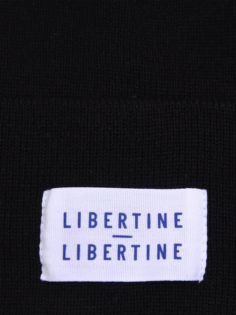 Libertine Libertine Libertine Libertine Story Beanie Solid Black 145