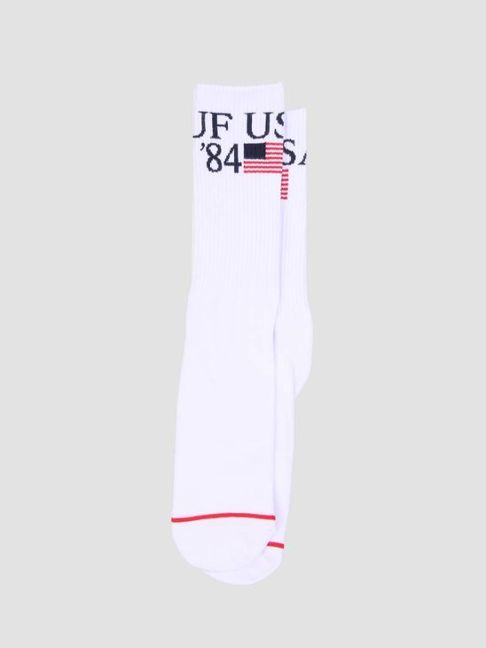 HUF World Tour Crew Sock White SK00271