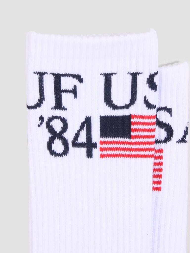 HUF HUF World Tour Crew Sock White SK00271