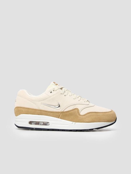 Nike Air Max 1 Premium SC Shoe Beach Mtlc Gold Grain-Muted Bronze AA0512-200