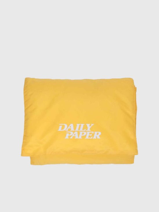 Daily Paper Puffer Scarf Dark Yellow 18F1AC10