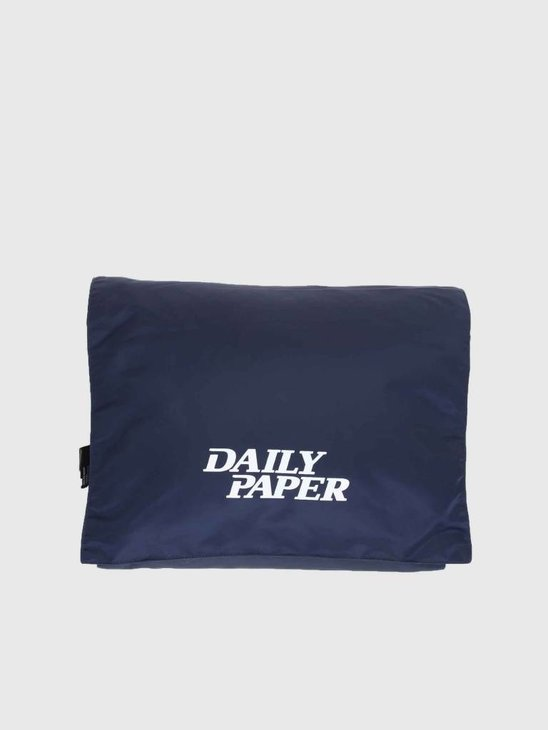 Daily Paper Puffer Scarf Navy 18F1AC10