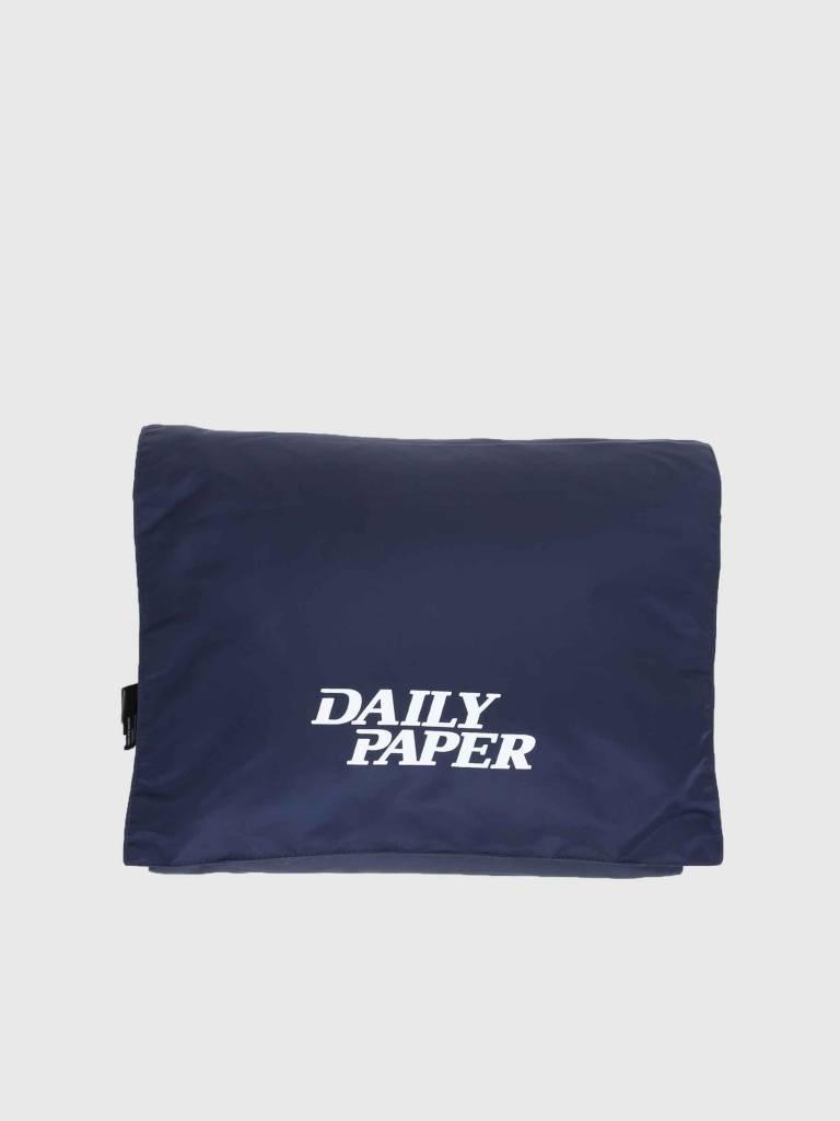 c001b4b3a1ce Daily Paper Puffer Scarf Navy 18F1AC10 - FRESHCOTTON