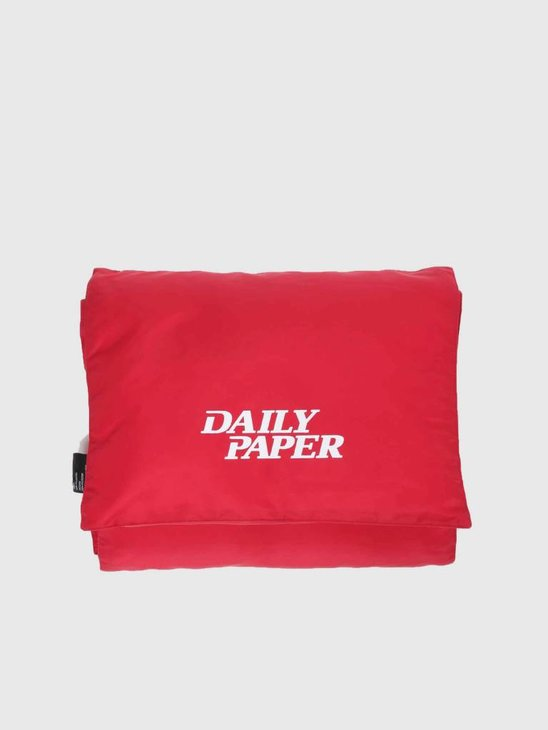 Daily Paper Puffer Scarf Red 18F1AC10