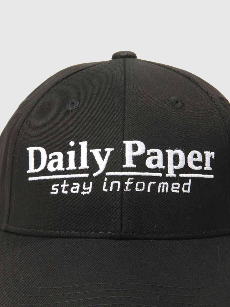 Daily Paper Daily Paper Cycle Cap Black 18F1AC15