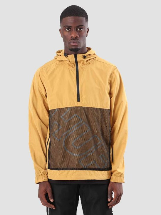 HUF Wire frame Anorak Honey Mustard JK00089