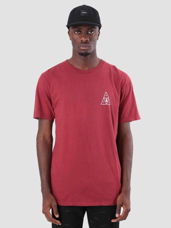HUF Memorial Triangle T-Shirt Terra Cotta TS00389