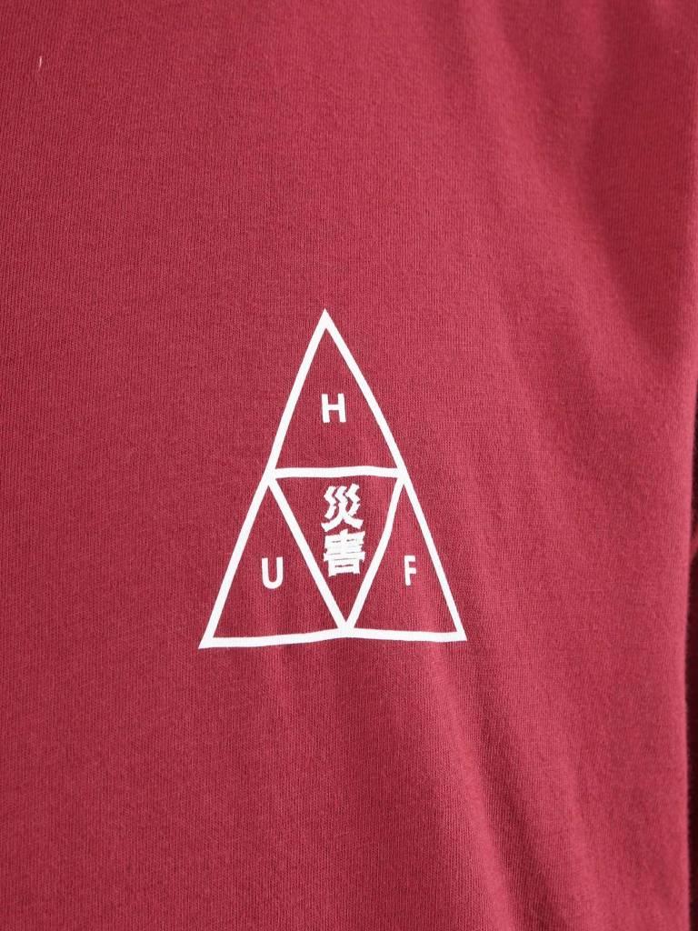HUF HUF Memorial Triangle T-Shirt Terra Cotta TS00389