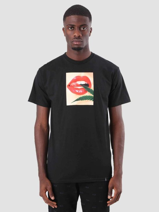HUF The Lick T-Shirt Black TS00384