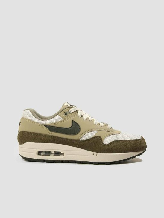 Nike Air Max 1 Shoe Medium Olive Sequoia-Neutral Olive AH8145-201