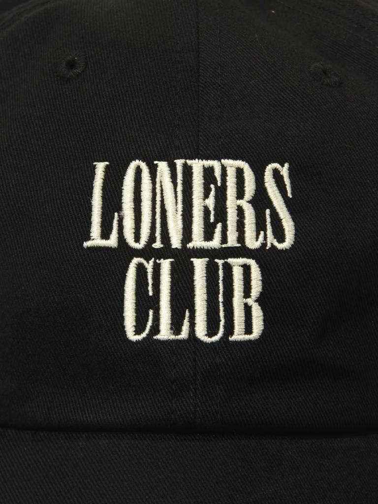 The Quiet Life The Quiet Life Loners Club Dad Hat Black 18FAD1-1227-BLK