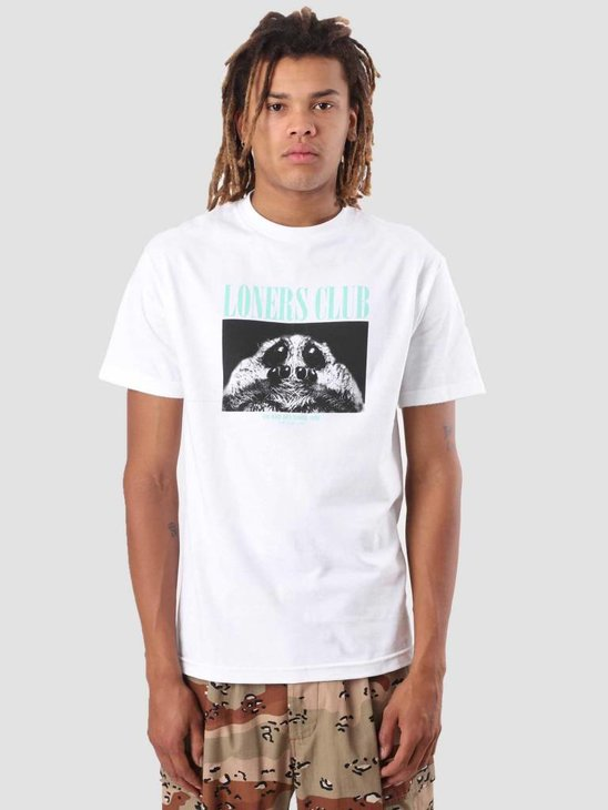 The Quiet Life Loners Club T-Shirt White 18FAD1-1165-WHT