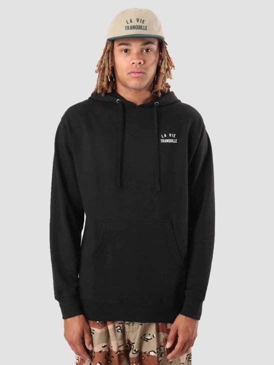 The Quiet Life La Vie Pullover Hoodie Black 18FAD1-1121-BLK