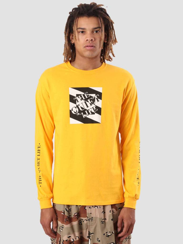 The Quiet Life The Quiet Life Optical Longsleeve Gold 18FAD1-1133-GLD