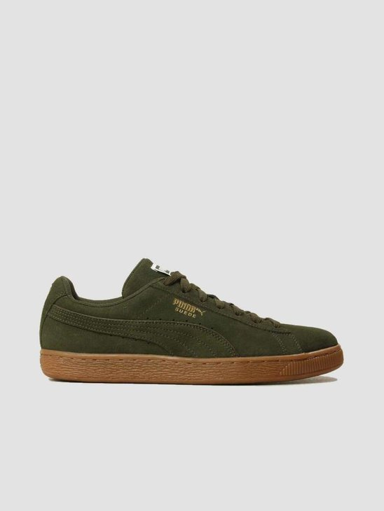 Puma Suede Classic Forest Night Puma Team Gold 36534746