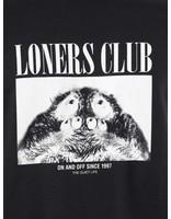 The Quiet Life The Quiet Life Loners Club Longsleeve Black 18FAD1-1132-BLK