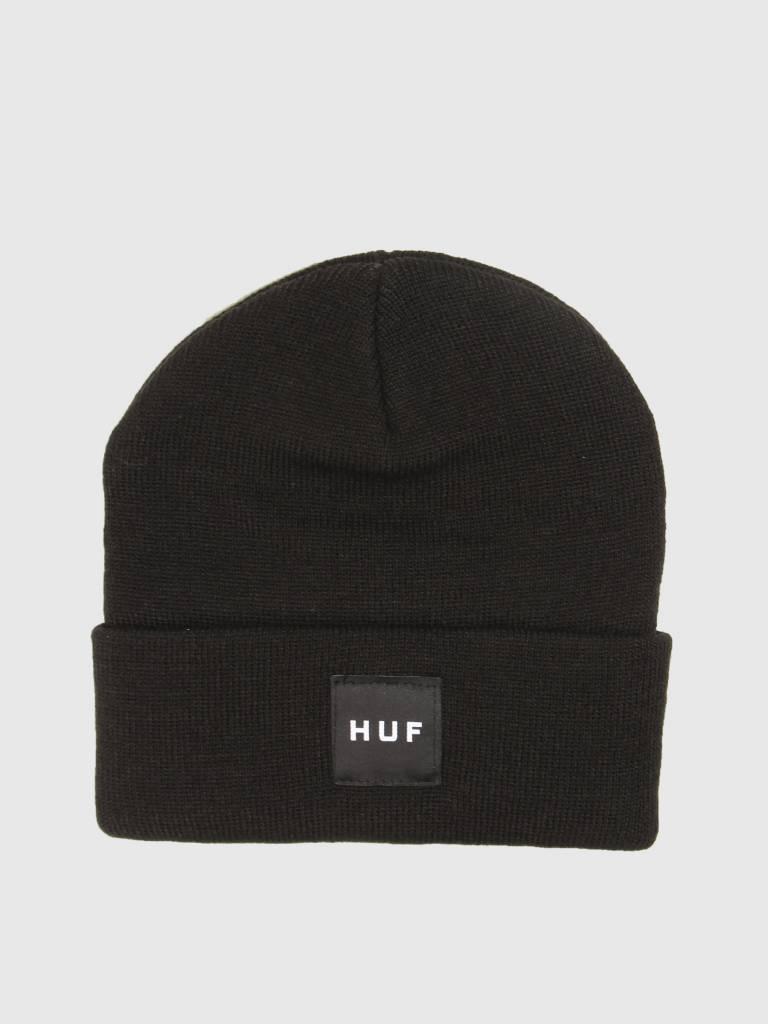 HUF HUF Box Logo Beanie Black BN00047
