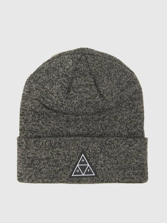 HUF Triple Triangle Beanie Black BN00048