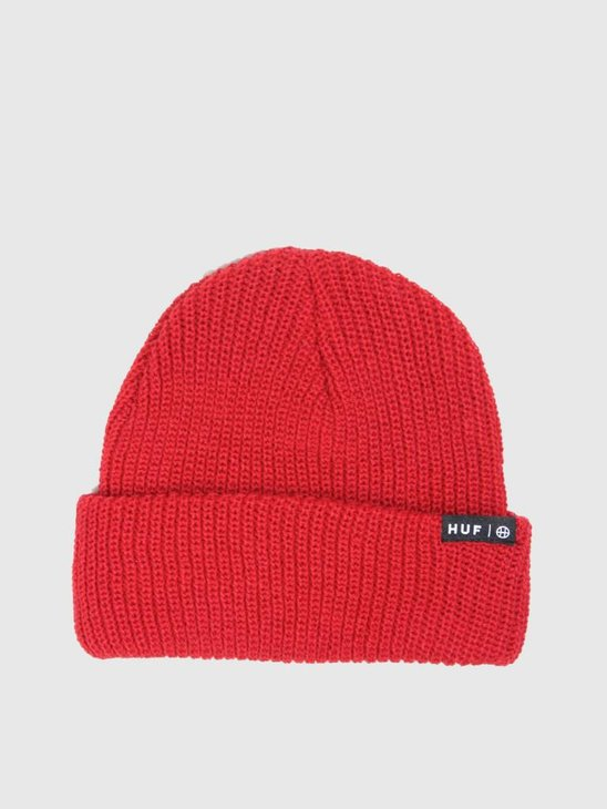 HUF Usual Beanie Scarlet BN00060