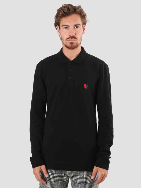 Libertine Libertine Hawk Polo Tee Black 1581