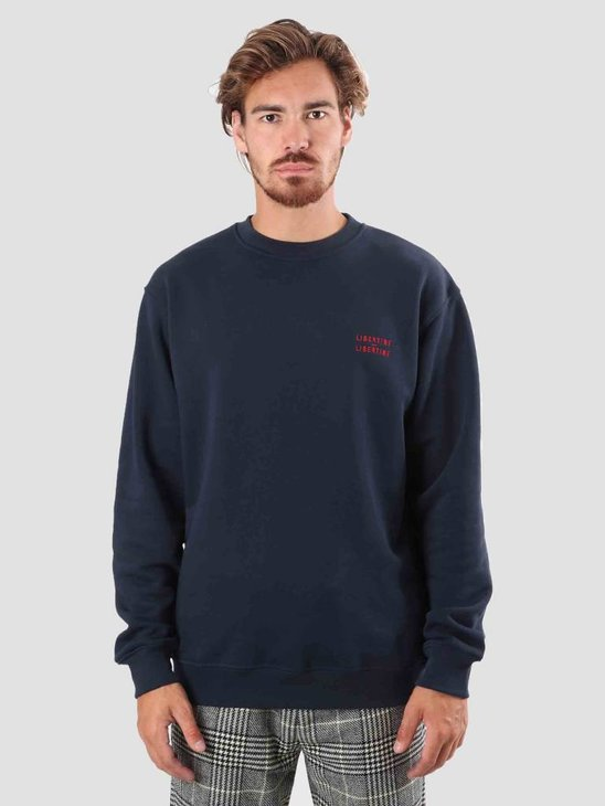 Libertine Libertine Society Sweatshirt Dark Navy 1438