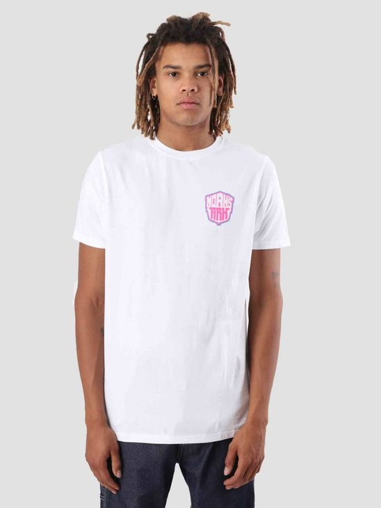 FreshCotton Noahs Ark Camp Lowlands T-Shirt White