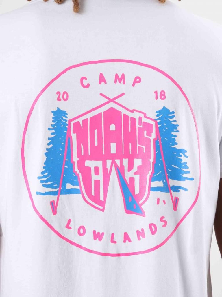 FRESHCOTTON FreshCotton Noahs Ark Camp Lowlands T-Shirt White