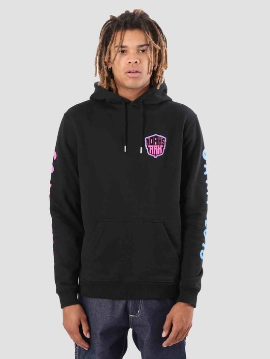 FreshCotton Noahs Ark Camp Lowlands Hoodie Black
