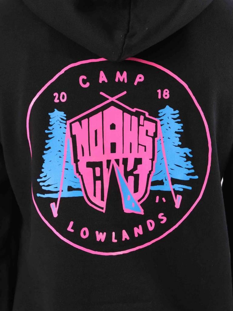 FRESHCOTTON FreshCotton Noahs Ark Camp Lowlands Hoodie Black