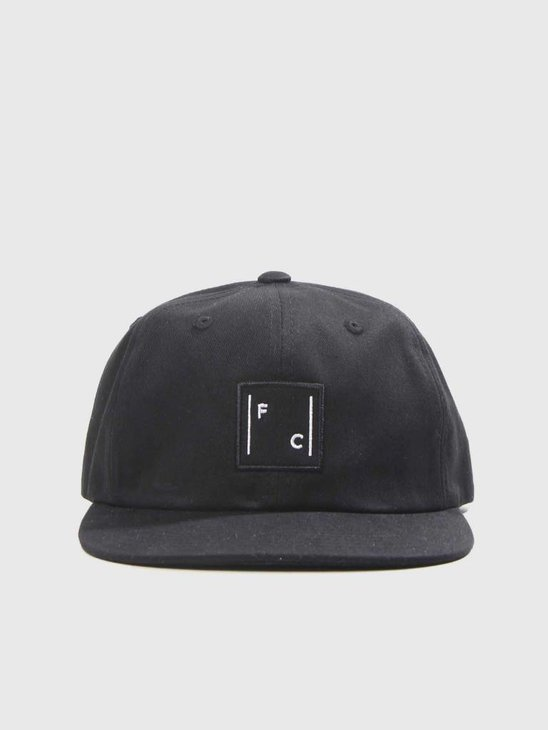 FreshCotton Logo Cap Black